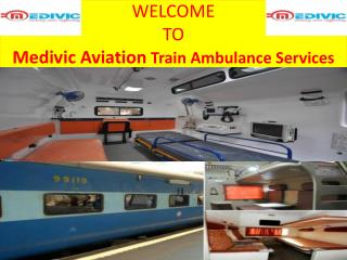 Best Train Ambulance Services in Mumbai by Medivic Aviation