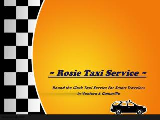 Right Place to Book a Taxi Cab in Ventura