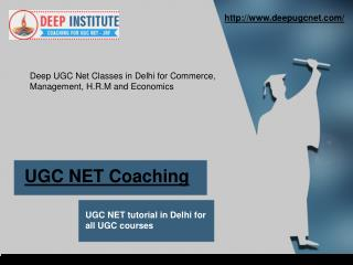 UGC NET Coaching Centre in New Delhi