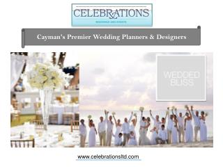 Leave the stress behind and enjoy your wedding in Grand Cayman!