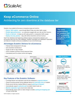 Keep E-commerce online