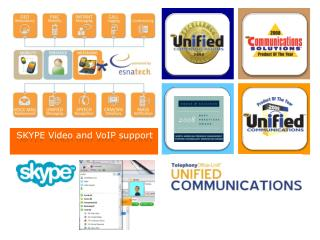 SKYPE Video and VoIP support