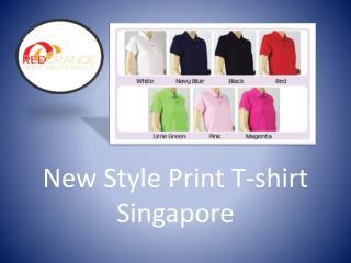 New Style Print T-shirt Singapore