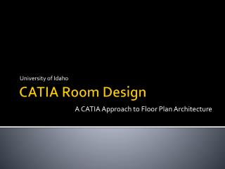 CATIA Room Design