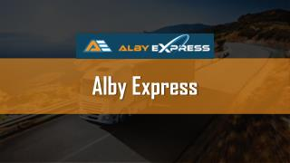 Alby Express - Edmonton's fastest Same day delivery courier service