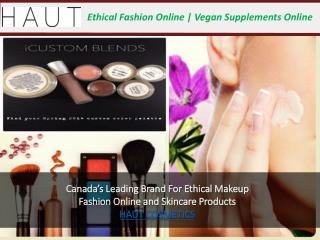 Haut Cosmetics Online Products