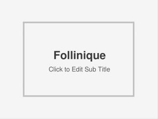 Follinique Hair Growth Free Trial