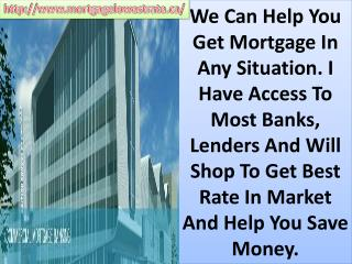 1st, 2nd Mortgage - Refinancing approved at best rates! call NOW