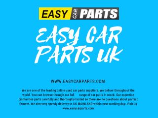 EASY CAR PARTS - BEST USED CAR PARTS SUPPLIER IN UK