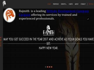Rajmith is a leadingwebsite development company gurgaon