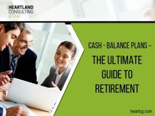 A Guide to Cash Balance Plans