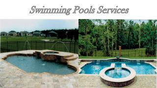 Swimming Pools Services