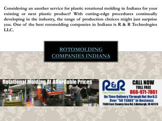 Custom Plastic Molding Indiana