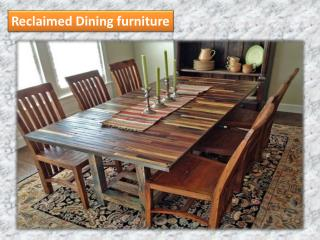 Reclaimed Dining furniture