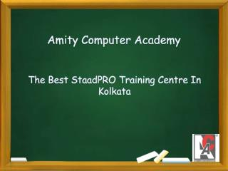 The Best StaadPRO Training Centre In Kolkata