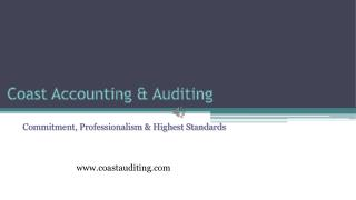 Best Audit Firm in Dubai - Coast Accounting & Audit