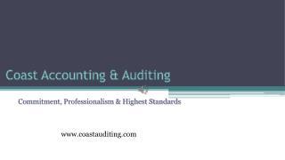 Best Audit Firm in Dubai - Coast Accounting & Audit
