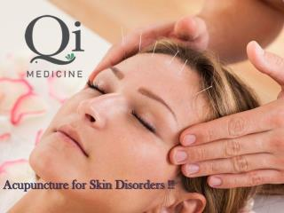 Acupuncture for Skin Disorders