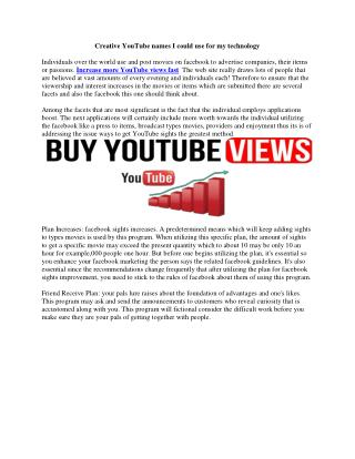 Online video marketing in YouTube