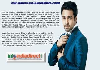Latest Bollywood and Hollywood News & Gossip