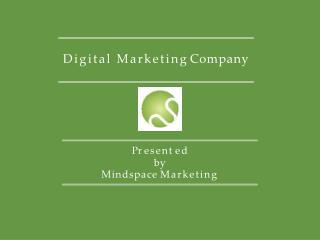 Mindspace Marketing- Digital Marketing Dubai