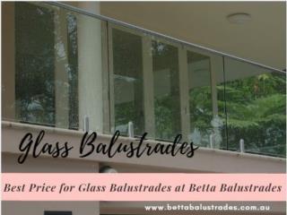 Glass Balustrades - Betta
