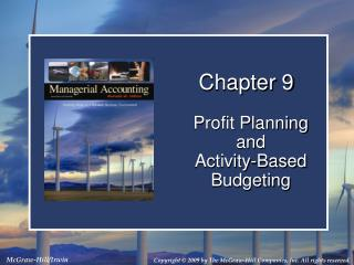 Profit Planning and Activity-Based Budgeting