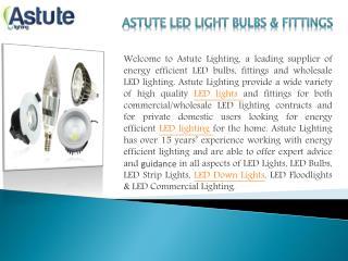 LED COMMERCIAL LIGHTING