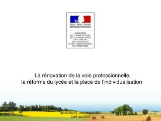 R novations_individualisation CdR d c2010