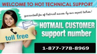 Quick Support $1-877-778-8969$ How To Change Hotmail Password Recovery