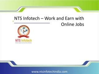 NTS Infotech – Work and Earn with Online Jobs