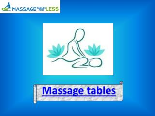 A leading massage table seller : Massage Tables For Less