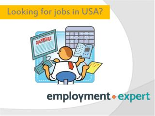Online Jobs, Employment in USA at Employment.Expert