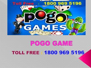 Tollfree Helpline Number for Pogo Tech Support Phone Number