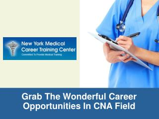 CNA training program under the supervision of a experianced nurses