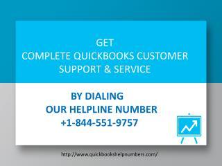 Call @ 1-844-551-9757 QuickBooks Error Help Desk Phone Number