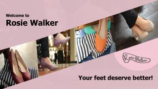 Rosie Walker- Funky Womens Shoes