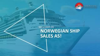 Welcome to Norwegian Ship Sales AS