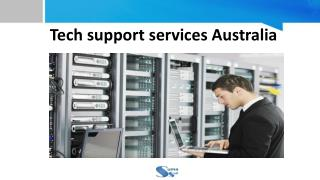 Tech support Services in Australia