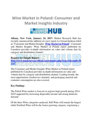 Wine Market in Poland: Consumer and Market Insights Industry