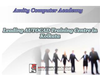 Leading AUTOCAD Training Centre in Kolkata