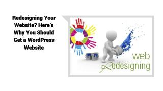 Redesigning Your Website?