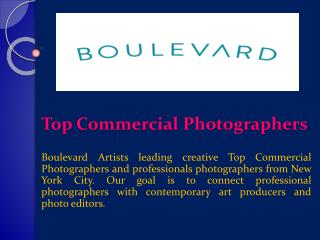 Top Commercial Photographers