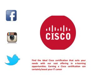Cisco Certifications - Live Learning