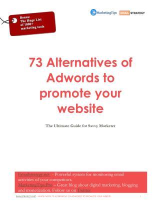 73 alternatives of Adwords