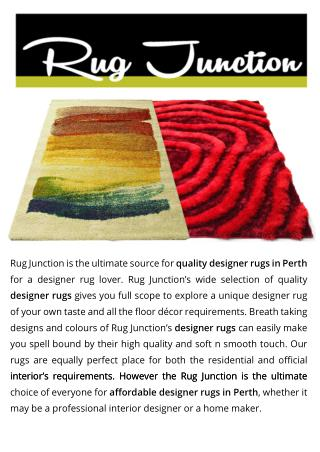 Affordable Designer Rugs Perth | Carpet Perth Osborne Park