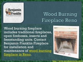 Wood Burning Fireplace Reno