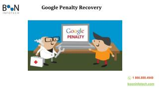 How To Recover From Google Penalty