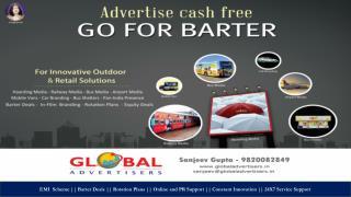 Outdoor Media Advertising For Buffalo Clothing - Mumbai
