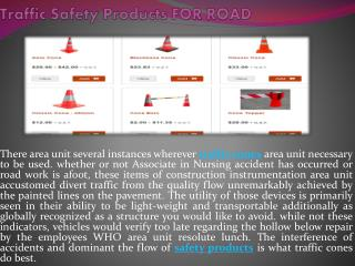Traffic Safety Products For Road